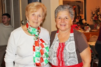 Aunt Connie and Aunt Lucy (Grandma and Grandma)