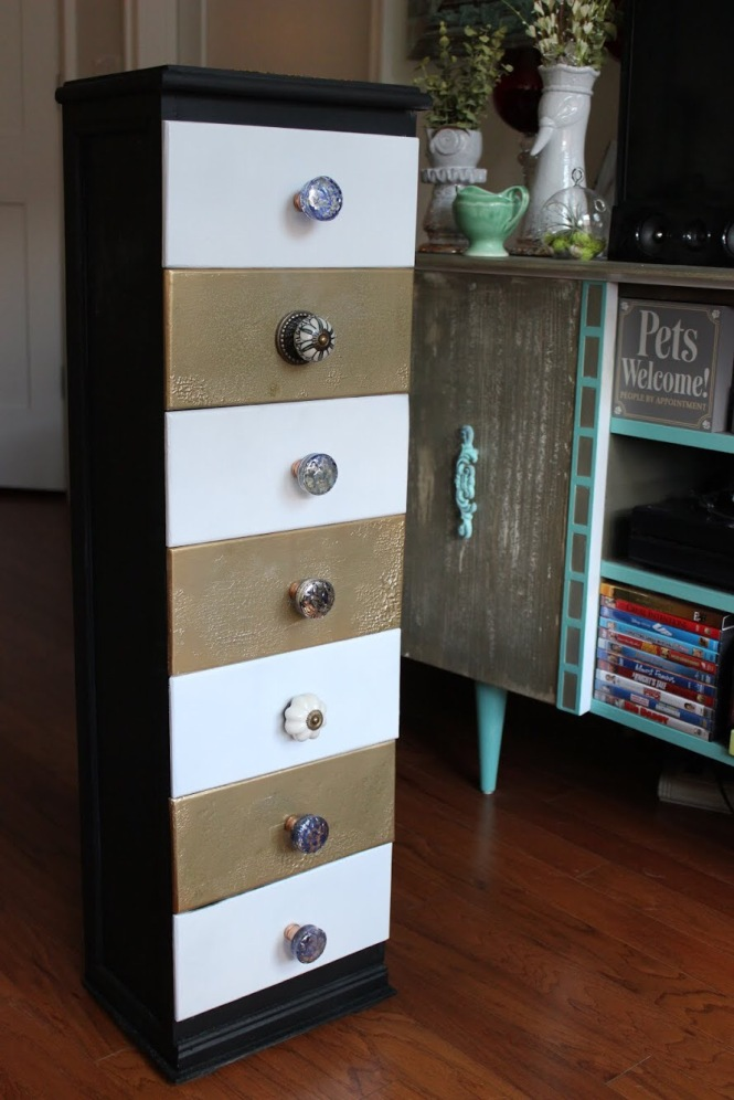 And here are the drawers!